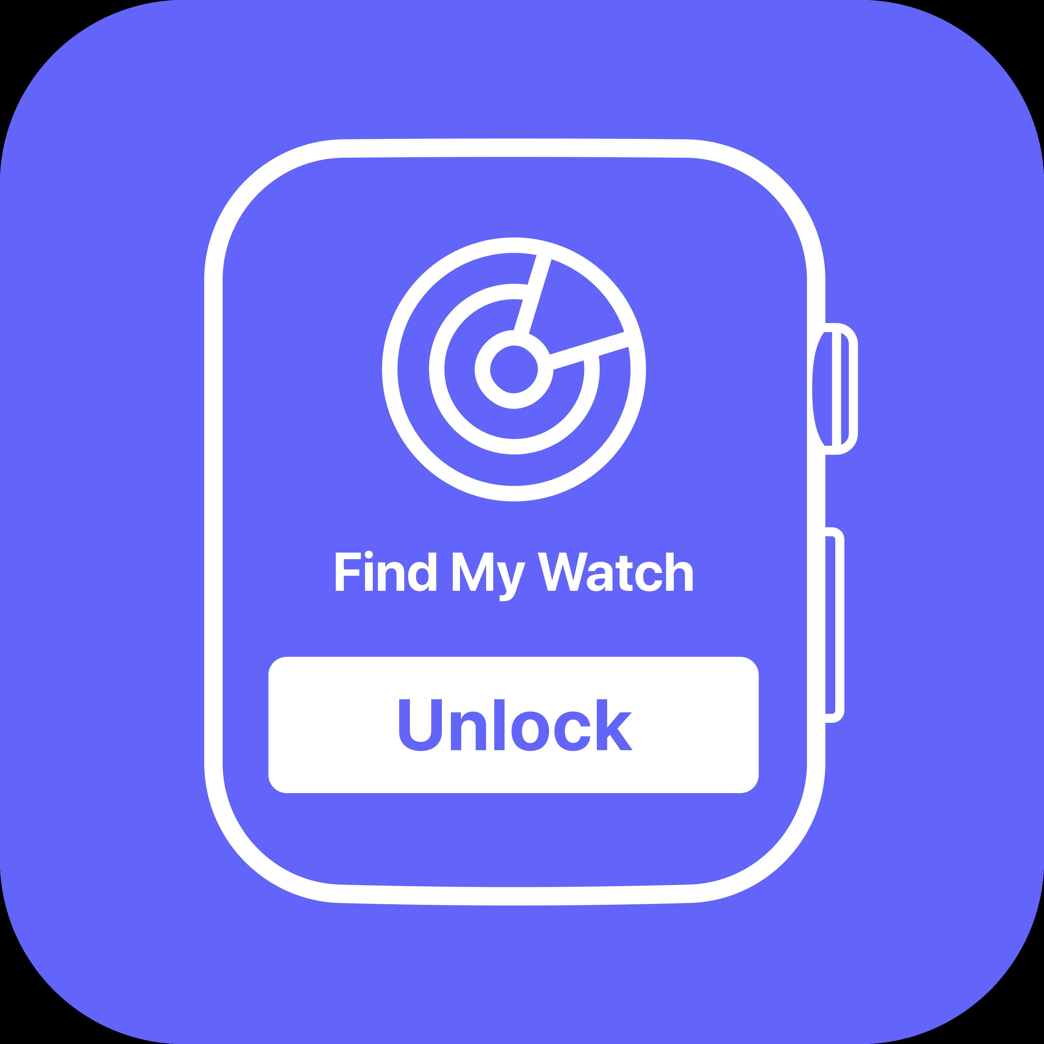 Unlock Apple Watch Software