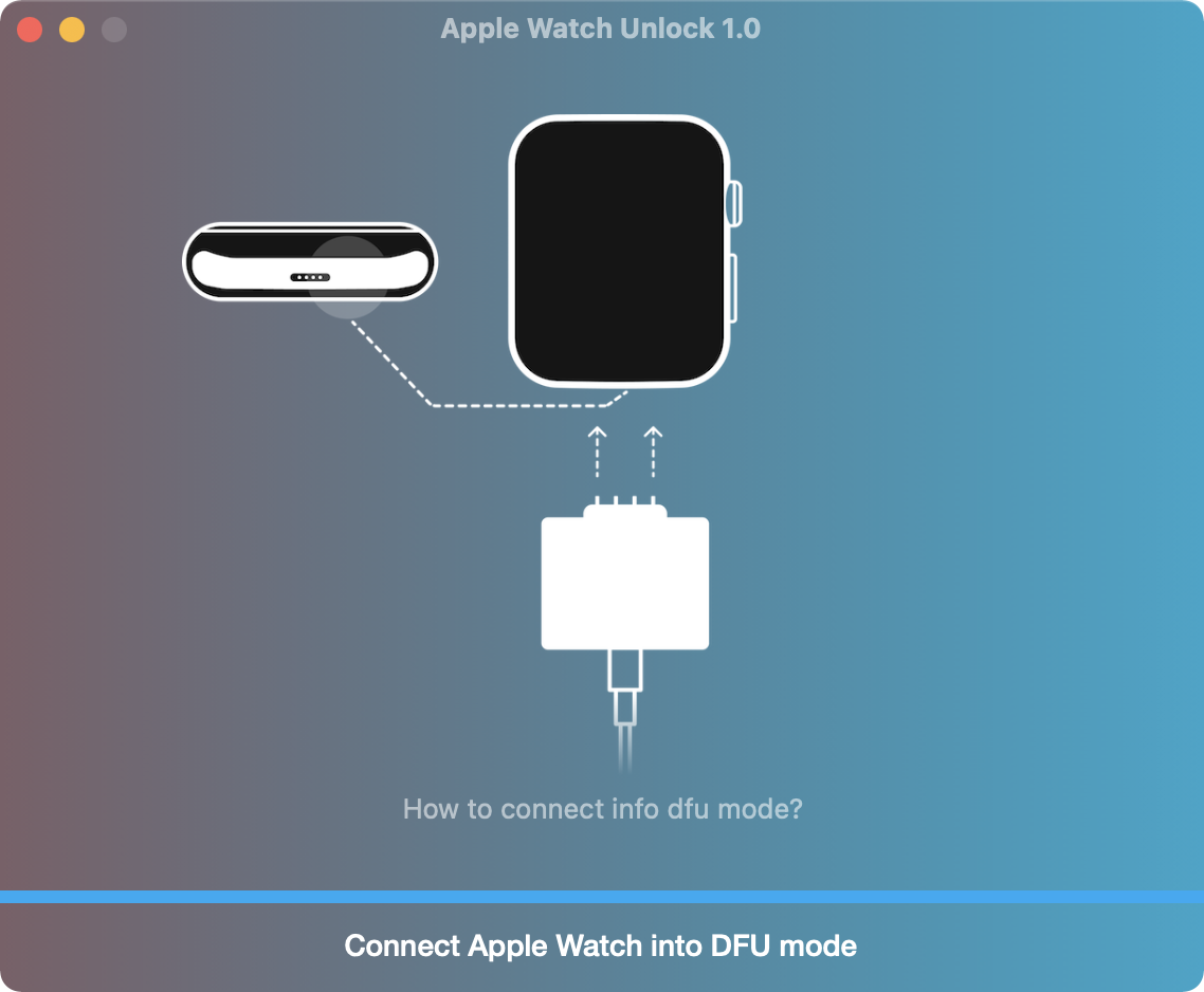 Apple Watch Activation Lock Removal Tool