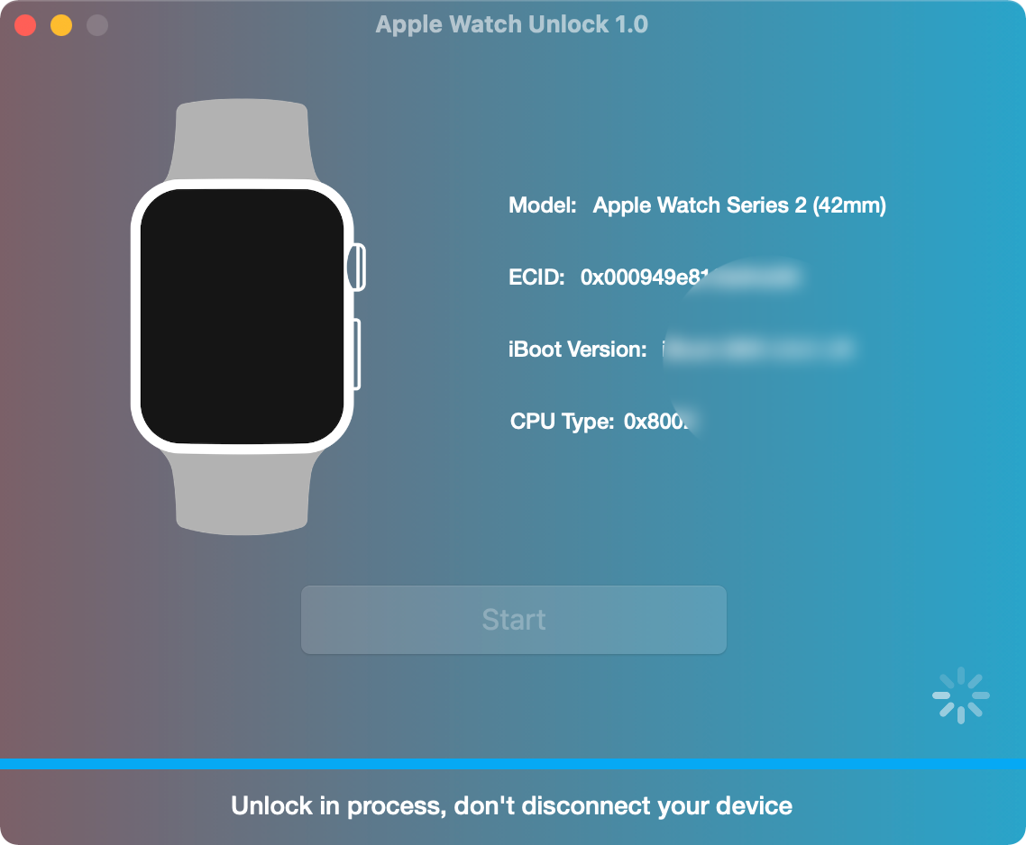 Remove iCloud Activation Lock on Apple Watch via Unlock Tool